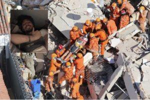 Korban Selamat Reruntuhan Bangunan Akibat Foto Selfie